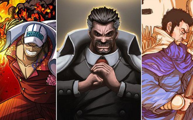 """Top 10 lính Hải Quân mạnh nhất trong One Piece, ai cũng mạnh mẽ sở hữu sức mạnh """"đáng gờm"""" (Phần 1)"""