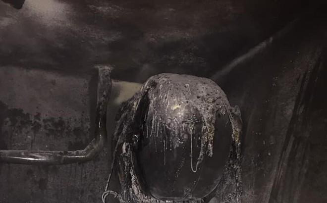 Những hình ảnh bình nóng lạnh phát nổ đáng sợ. Nguyên nhân nổ bình nóng lạnh cần biết