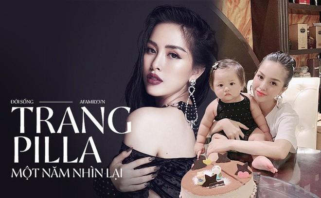 """Trang Pilla - một năm nhìn lại: Trút mác """"chị dâu Bảo Thy"""" trở thành hot mom thành đạt, đón hàng loạt tin vui"""