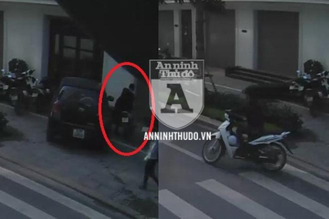 Hà Nội: Bắt giữ tên trộm dị, chuyên nhắm xe máy ở nơi khó ngờ, rồi tiêu thụ tận… TP HCM - Ảnh 2.