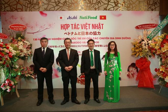 NutiFood hợp tác cùng Tập đoàn Asahi đưa các sản phẩm dinh dưỡng trẻ em Nhật Bản vào thị trường Việt - Ảnh 2.