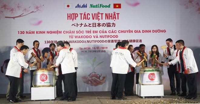 NutiFood hợp tác cùng Tập đoàn Asahi đưa các sản phẩm dinh dưỡng trẻ em Nhật Bản vào thị trường Việt - Ảnh 3.