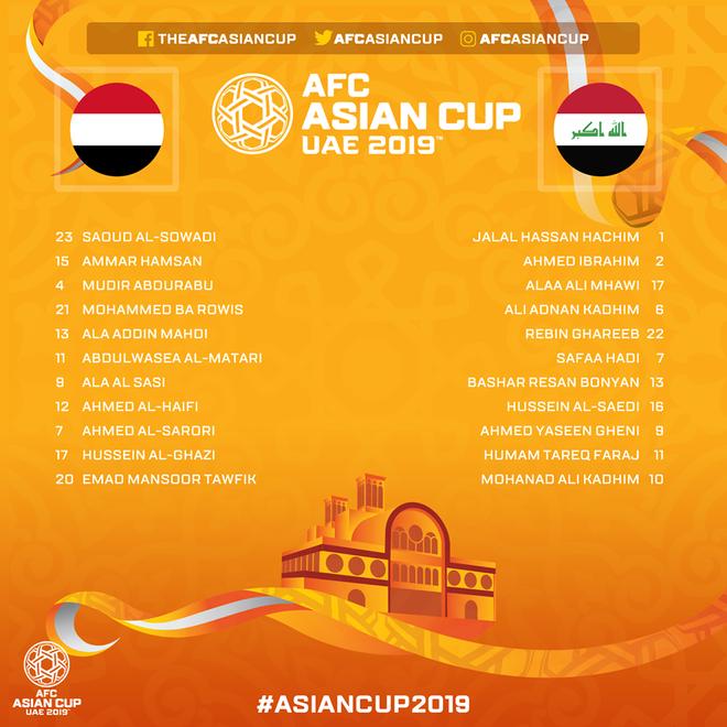 TRỰC TIẾP Asian Cup 2019: Yemen lại đại bại trước thềm trận gặp Việt Nam - Ảnh 1.