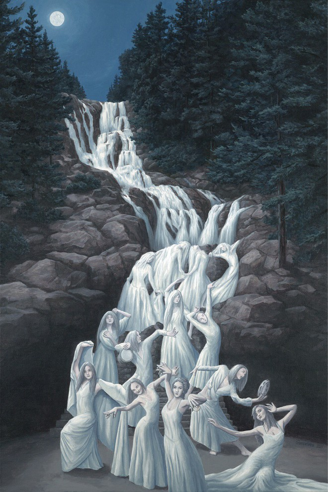 Những bức hình troll não trong vòng 2 giây: Bạn có nhìn ra thiếu nữ áo trắng dưới hồ? - Ảnh 9.