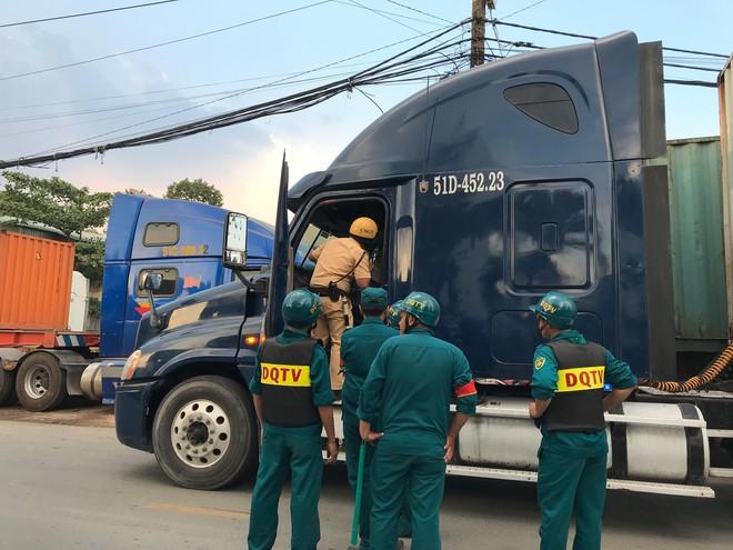 Tài xế dương tính ma tuý lái xe container chạy vào cảng ở Sài Gòn  - Ảnh 1.