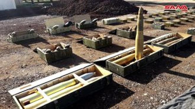 Mẻ lưới lớn vũ khí mà quân đội Syria vừa tịch thu có gì đặc biệt? - Ảnh 2.