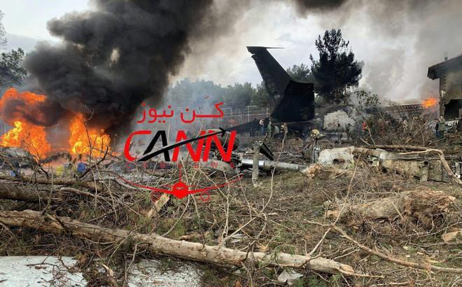 Trượt khỏi đường băng, Boeing-707 của quân đội Iran bốc cháy, chỉ 1 người sống sót