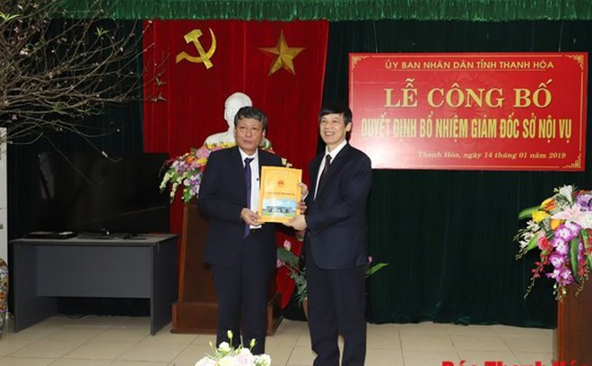 Nhân sự mới Thanh Hóa, Nghệ An, Đà Nẵng