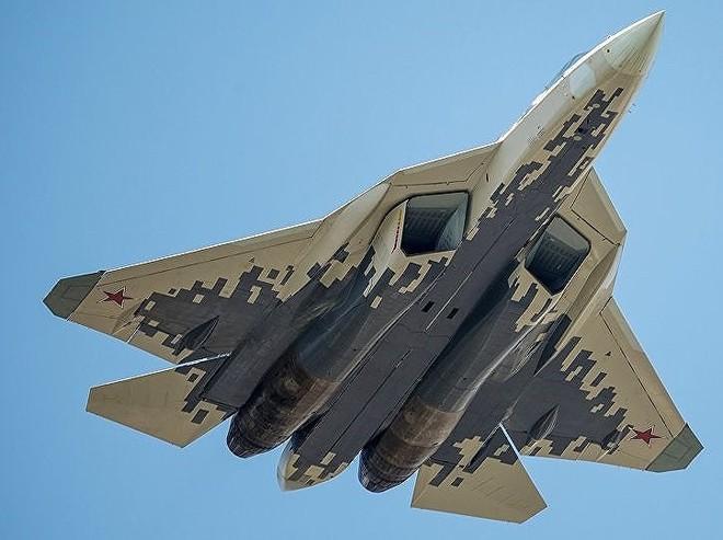 [ẢNH] Lớp sơn đặc biệt mới nhân đôi khả năng tàng hình của Su-57 - Ảnh 3.