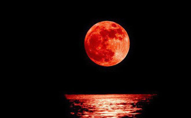 Siêu trăng máu sẽ xuất hiện vào cuối tuần