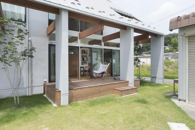 Ngôi nhà cấp 4 ở Nhật có mái hiên rộng để che nắng mưa, cảm nhận vị ấm của hạnh phúc gia đình - Ảnh 3.