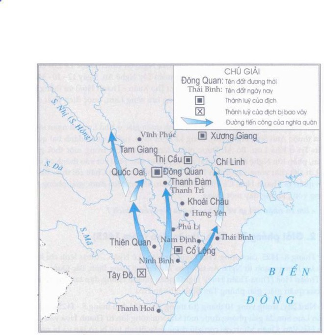 Liên tiếp đánh bại quân Minh ở nhiều mặt trận, khởi nghĩa Lam Sơn tiến quân ra Bắc - Ảnh 2.