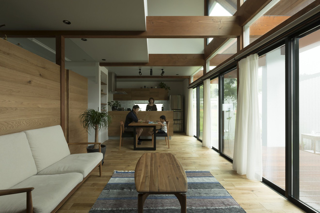 Ngôi nhà cấp 4 ở Nhật có mái hiên rộng để che nắng mưa, cảm nhận vị ấm của hạnh phúc gia đình - Ảnh 13.