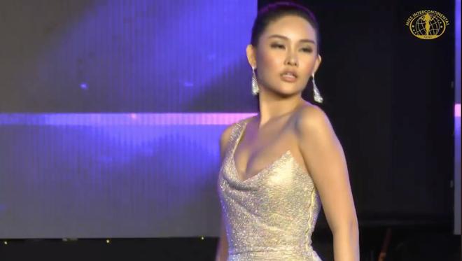 Ngân Anh tiếp tục thể hiện biểu cảm khó hiểu tại cuộc thi Miss Intercontinental - Ảnh 7.