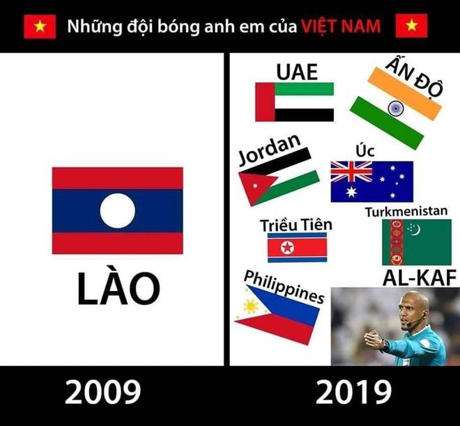 Tâm trạng thay đổi liên tục của CĐV Việt khi xem Triều Tiên thi đấu - nguồn chế ảnh bất tận - Ảnh 6.