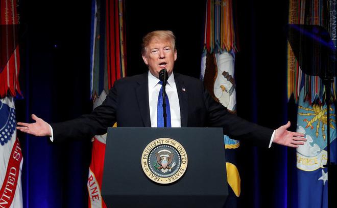 TT Mỹ Donald Trump: Tên lửa kẻ thù sẽ không còn nơi trú ẩn, ở Trái Đất hay trên bầu trời!