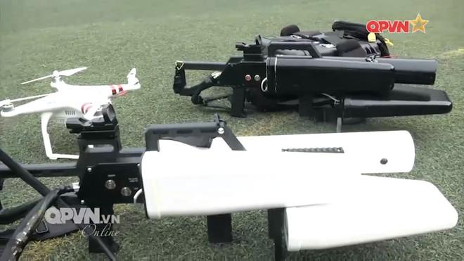 Tuyệt vời trí tuệ Việt Nam: Chế tạo thành công súng bắn máy bay không người lái - Ảnh 3.