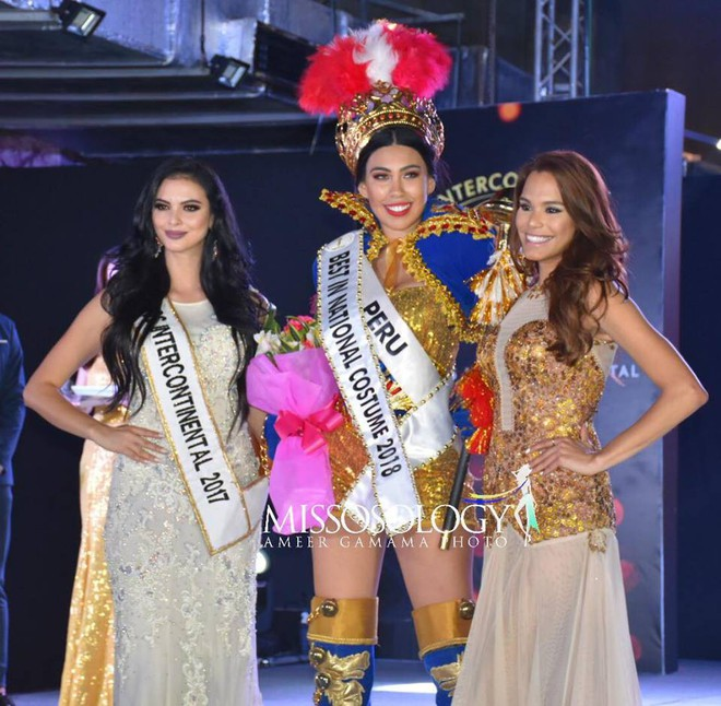 Phá cách ở phần thi quốc phục, Ngân Anh vẫn bại trận dù đang trong giai đoạn nước rút của Miss Intercontinental - Ảnh 2.