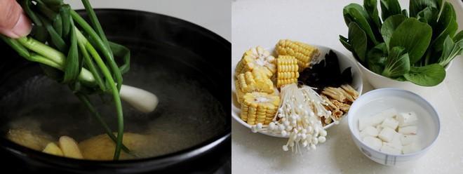 Ngon miệng bổ dưỡng món canh gà hầm rau củ - Ảnh 2.