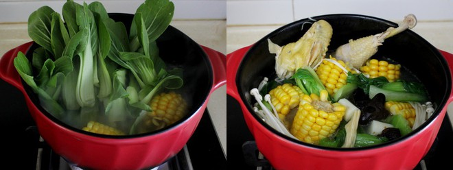Ngon miệng bổ dưỡng món canh gà hầm rau củ - Ảnh 4.