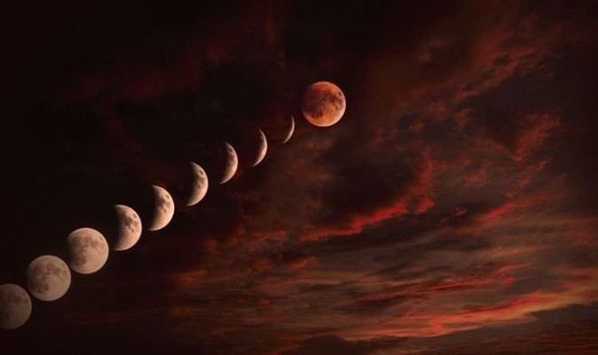 Đêm nay 20/1, Siêu trăng-Trăng máu-Trăng sói sẽ xuất hiện cùng lúc - Ảnh 1.