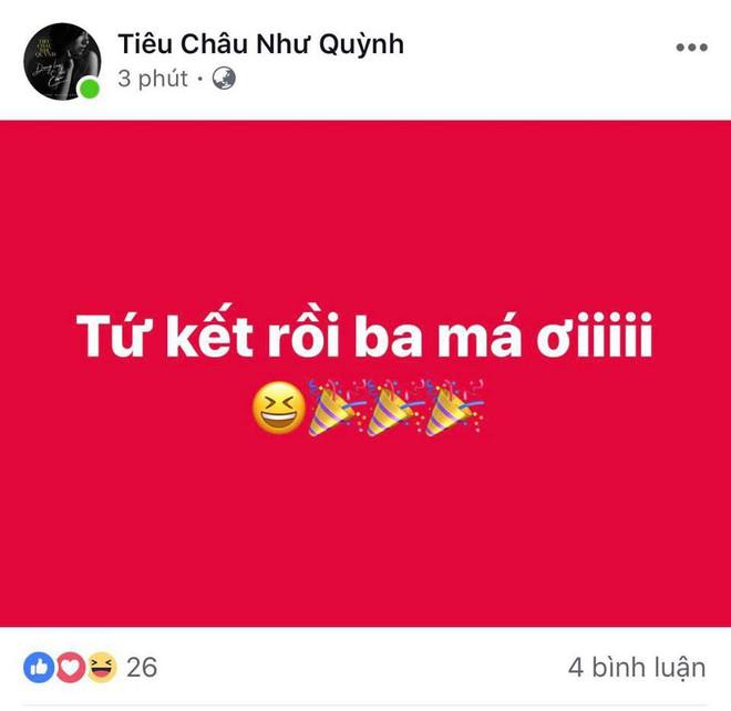 Hà Tăng, HHen Niê... đồng loạt chúc mừng đội tuyển Việt Nam giành vé vào tứ kết Asian Cup 2019 - Ảnh 9.