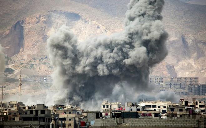 Khủng bố bất ngờ phản công táo bạo ngay giữa thủ đô Syria