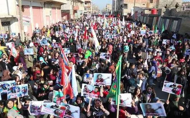Người dân Syria biểu tình phản đối 'sự chiếm đóng' của Thổ Nhĩ Kỳ