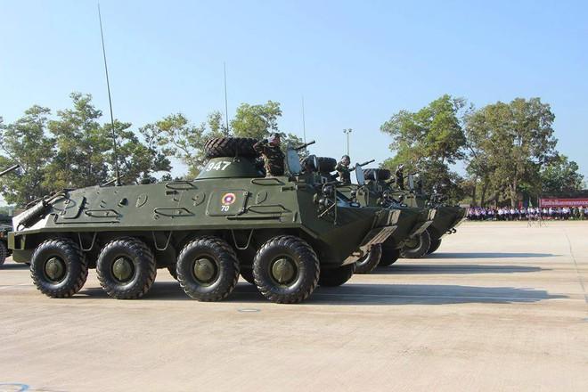 Kiêu hãnh - Tự hào: Vũ khí Made in Vietnam sánh cùng Nga, TQ trong Duyệt binh ở Lào - Ảnh 4.