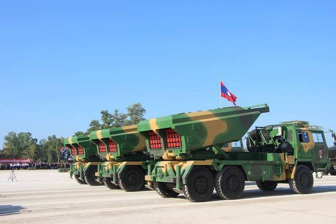 Kiêu hãnh - Tự hào: Vũ khí Made in Vietnam sánh cùng Nga, TQ trong Duyệt binh ở Lào - Ảnh 9.