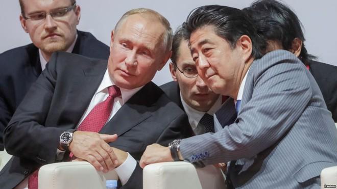 Trong 6 năm gặp nhau 25 lần: Ông Putin đã thả mồi, ông Abe quyết giữ chắc con chim sẻ - Ảnh 1.