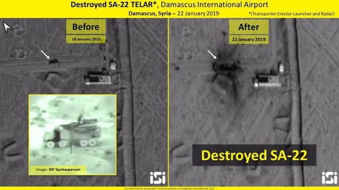 Lộ ảnh vệ tinh mới nhất vụ Israel tấn công Syria: Nhiều tổ hợp phòng không Syria tan nát - Ảnh 4.