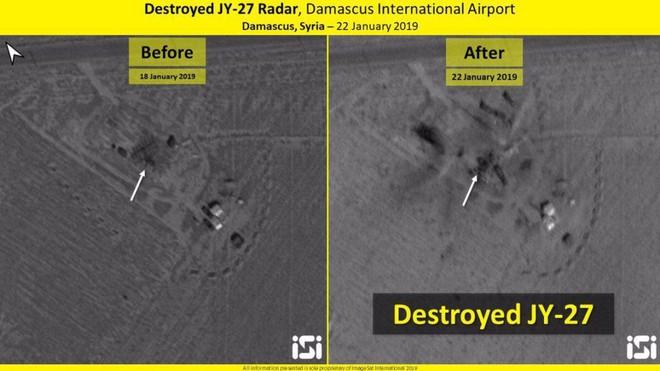 Lộ ảnh vệ tinh mới nhất vụ Israel tấn công Syria: Nhiều tổ hợp phòng không Syria tan nát - Ảnh 1.