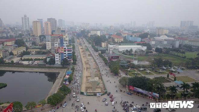 Ảnh: Đại công trường gần 10.000 tỷ đồng trên đường cong mềm mại ở Hà Nội - Ảnh 11.