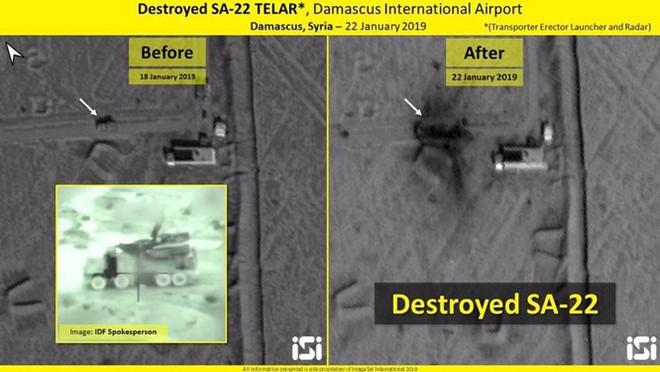 Israel công bố kết quả không kích, vũ khí bị phá hủy có thể là tên lửa phòng không S-125 Syria - Ảnh 2.