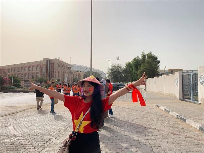 Không khí hừng hực tại Dubai trước trận đấu Việt Nam vs Nhật Bản - Ảnh 1.