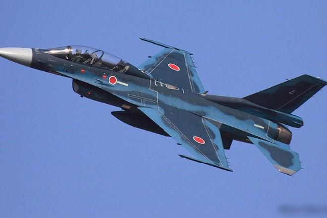 Cận cảnh máy bay tiêm kích săn hạm Nhật Bản Mitsubishi F-2 - Ảnh 12.
