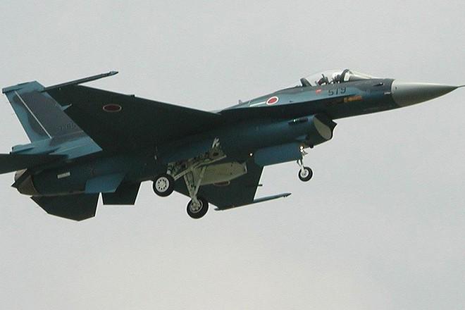 Cận cảnh máy bay tiêm kích săn hạm Nhật Bản Mitsubishi F-2 - Ảnh 5.