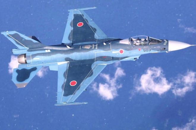 Cận cảnh máy bay tiêm kích săn hạm Nhật Bản Mitsubishi F-2 - Ảnh 8.