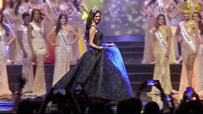 Ngân Anh ngậm ngùi, cười gượng khi để vuột mất ngôi vị Hoa hậu Liên lục địa vào tay Philippines - Ảnh 10.