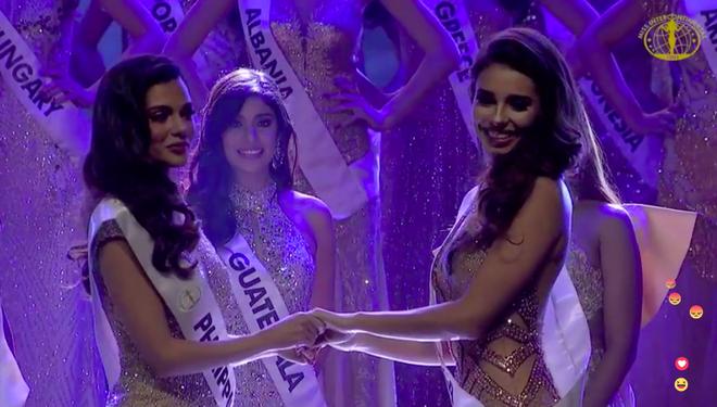 Ngân Anh ngậm ngùi, cười gượng khi để vuột mất ngôi vị Hoa hậu Liên lục địa vào tay Philippines - Ảnh 4.