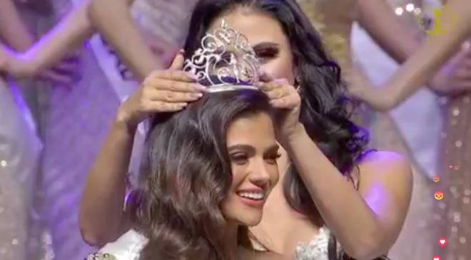 Ngân Anh ngậm ngùi, cười gượng khi để vuột mất ngôi vị Hoa hậu Liên lục địa vào tay Philippines - Ảnh 6.