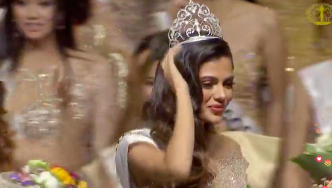Ngân Anh ngậm ngùi, cười gượng khi để vuột mất ngôi vị Hoa hậu Liên lục địa vào tay Philippines - Ảnh 7.