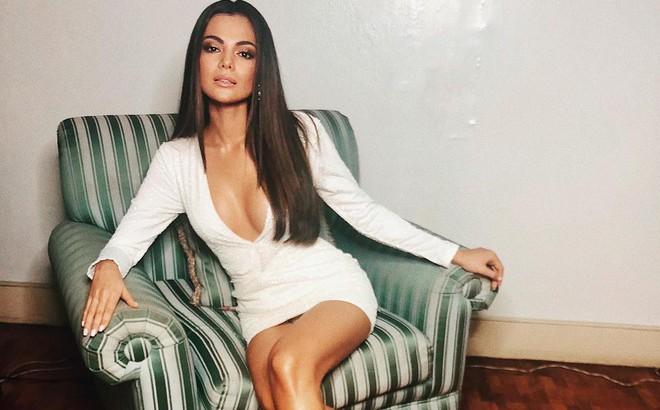 """Người """"cướp"""" mất ngôi vị Hoa hậu Liên lục địa của Lê Âu Ngân Anh đẹp cỡ nào?"""