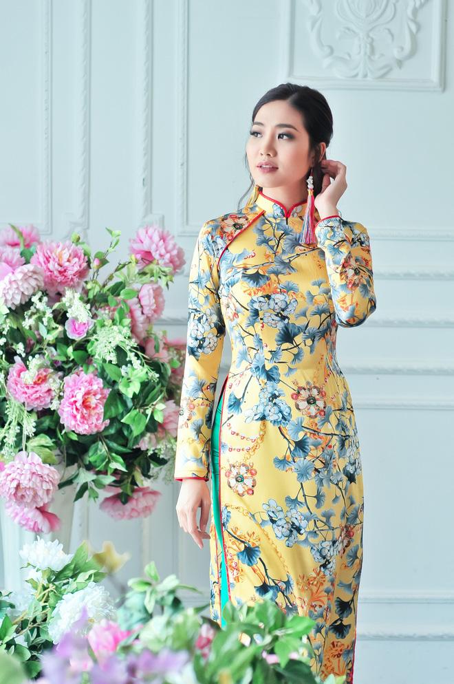 Hoa hậu biển Ninh Hoàng Ngân khoe vẻ đẹp dịu dàng, nữ tính  - Ảnh 13.