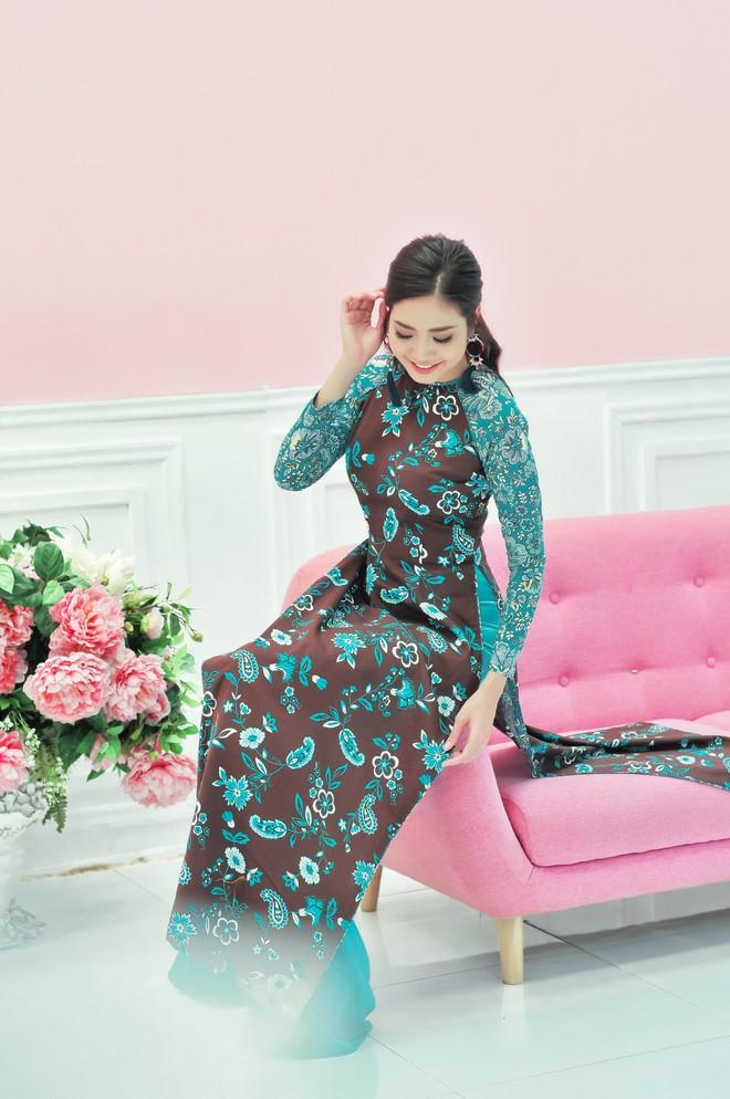 Hoa hậu biển Ninh Hoàng Ngân khoe vẻ đẹp dịu dàng, nữ tính  - Ảnh 5.