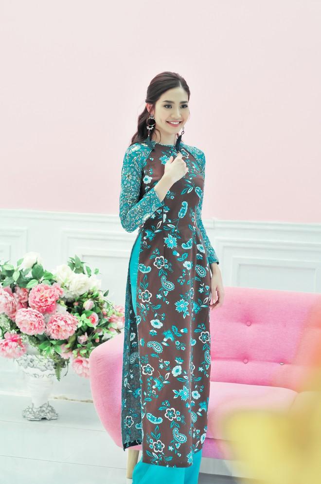 Hoa hậu biển Ninh Hoàng Ngân khoe vẻ đẹp dịu dàng, nữ tính  - Ảnh 4.