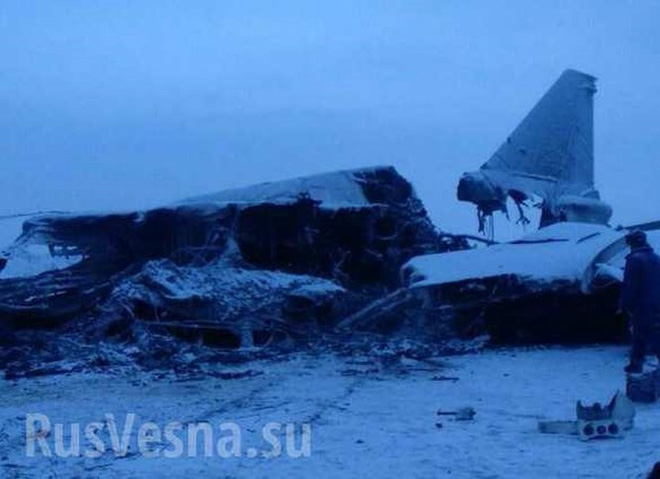 """Tu-22M3 rơi vào """"tuyết đổ"""" gãy đôi, 3 phi công thiệt mạng - Ảnh 2."""