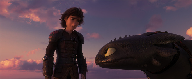 Phim hoạt hình chiếu Tết Bí kíp luyện rồng 3 nhận lời khen từ giới phê bình - Ảnh 1.