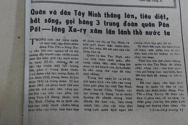 Báo chí Việt Nam viết về cuộc chiến tranh bảo vệ biên giới phía Bắc năm 1979 - Ảnh 1.